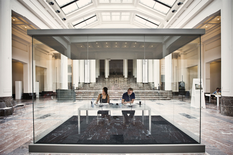 On Kawara - Reading One Million Years Centre for Fine Arts Brussels, 2013 © Jonas Lampens