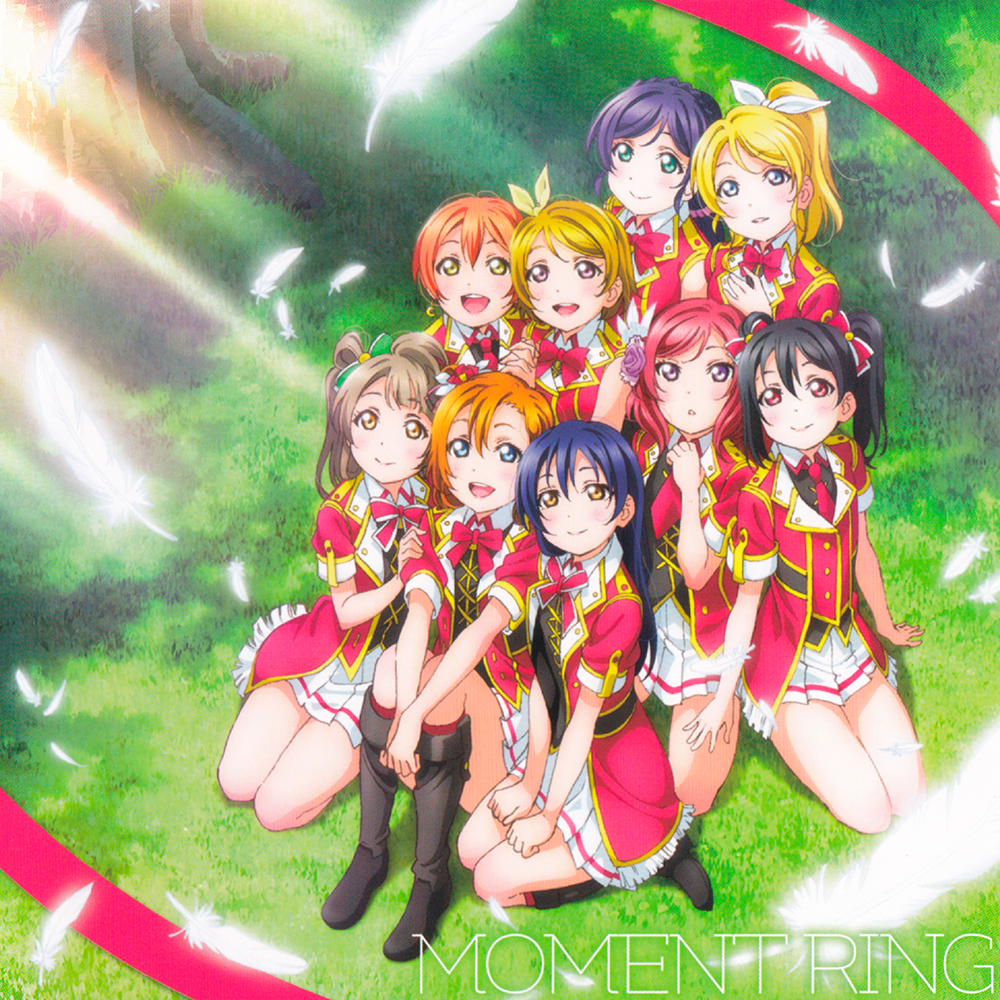 CD Review: μ's - MOMENT RING