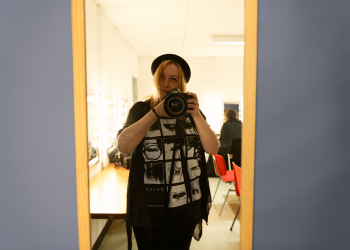 AVO J-Music Festival 2018 | Francisca Hagen self portrait before the show started