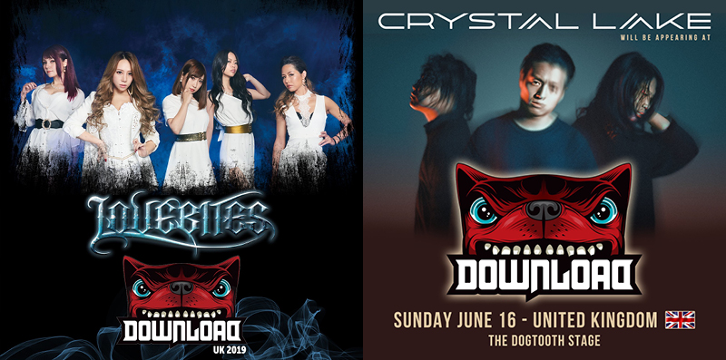 LOVEBITES and CRYSTAL LAKE join Download Festival 2019 line-up • AVO