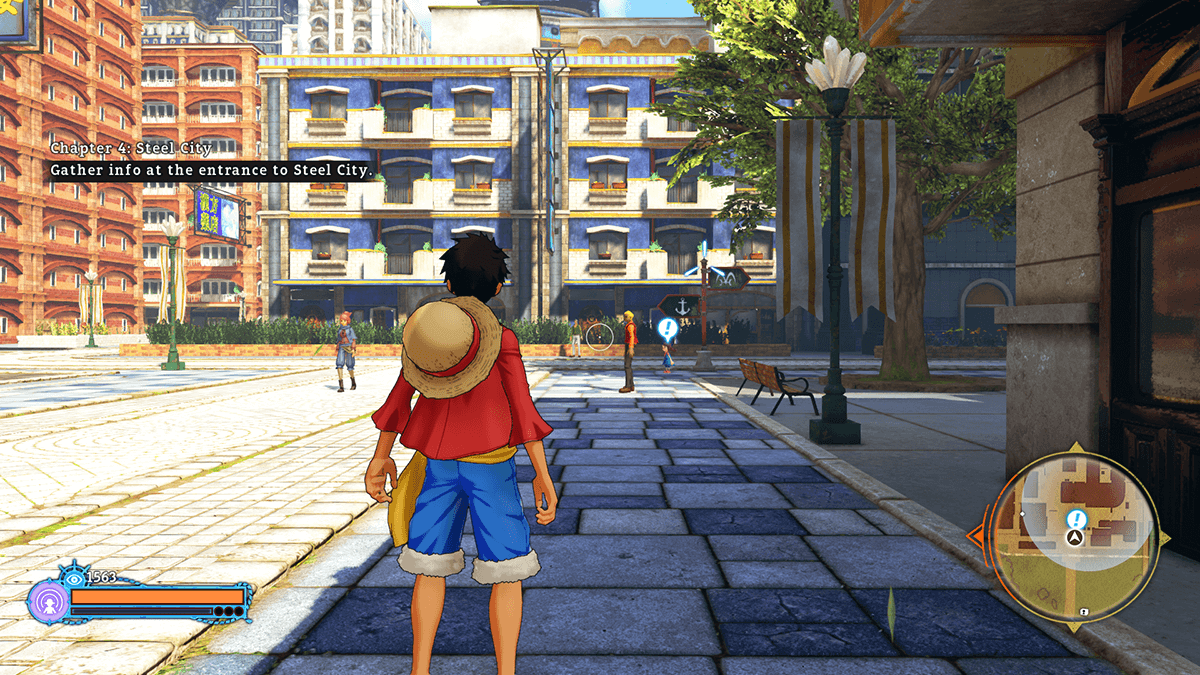 One Piece: World Seeker ©EIICHIRO ODA/SHUEISHA, TOEI ANIMATION Game©2018 BANDAI NAMCO Entertainment Inc.