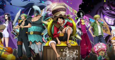 One Piece: Stampede (part of poster) © Toei Animation